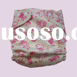 Best quality TPU waterproof minky and printed baby cloth nappy