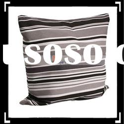 Black Gray White Stripe Pillowcase cushion cover
