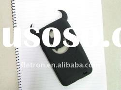 Black Halloween Devil Silicone Case For Samsung Galaxy S2 i9100