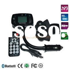 Bluetooth handsfree car kit with car MP3 player