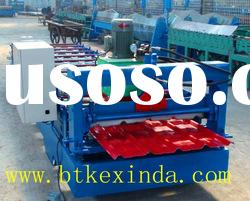 Botou Kexinda Metal Roof Tiles Cold Roll Forming Machine metal working machinery