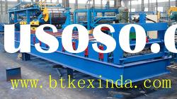 CE Certificate Aluminium Steel Roof Tile Cold Roll Forming Machine metal machinery