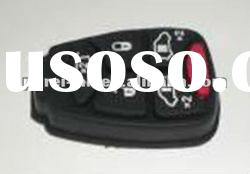 Chrysler 6 buttons remote control rubber pad for car key blade part wholesale