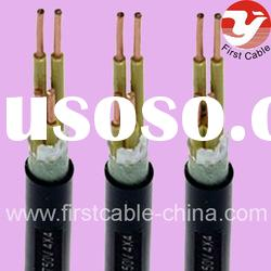 Copper Conductor XLPE Insulated Braiding Shielded PVC Sheathed Flexible Control Cable