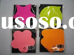 Cute Removable fashional shaped note pad