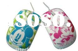 Cute and fashion design wired laptop mouse