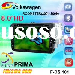 DVB-T Mpeg-2 car DVD GPS VW ROOMSTER 2004-2009 8 inch 3D PIP CANBUS