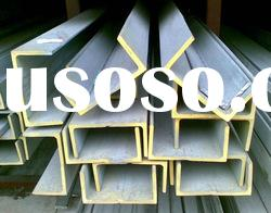 Factory direct sale, hot rolled stainless steel channel 201,304,304L,316,316L,310,310S,430,430F