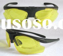 Fashion sports glasses With interchangeable lenses