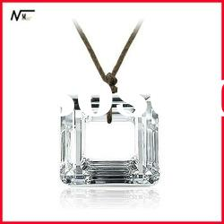 Free shipping 100% new design with crystal MT12062132 silver charm