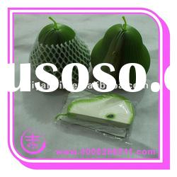 Fruit memo pad with pear shape
