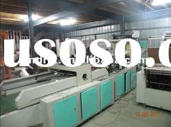 Full Automatic High Speed Double Layers Four Line Shopping Bag making Machine