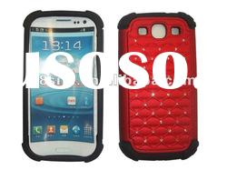 Full Star Combo Cell Phone Cover Case For SamSung i9300 Galaxy S3