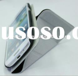 Funny stand style fold pu leather case for samsung i9300 smart cover stand case for samsung i9300