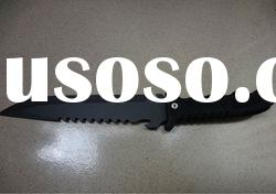 Good quality 420 S/S plastic hunting knife with fixed blade