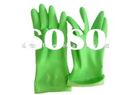 Green Rubber Household Gloves
