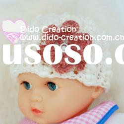 H05C031A Handmade fashion Crochet Baby's knitted Hats Cotton Hat Beanie Cap
