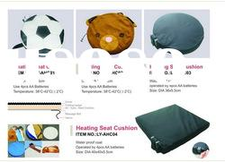 Heating seat cushion for massage at any place