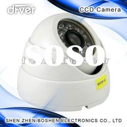 Hemisphere-infrared security system camera with 520TVL Resolution