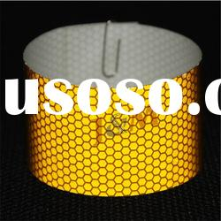 High Intensity Yellow PVC Reflective Prismatic Tape
