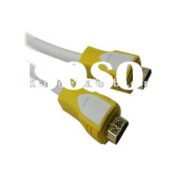 High Speed male to male hdmi cable with Ethernet Supports 3D and Audio Return hdmi cable