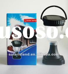 High brightness high quality low cost 9 LED Solar lamp
