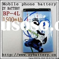 High capacity mobilephone battery BP-4L for mobile phone