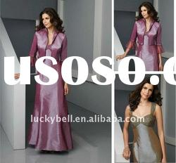 Hot sale Elegant Spaghetti Strap Satin Suits dress