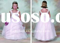 Hot sale New Spaghetti Strap Lovely Flower girl dress