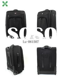 Hot-selling black luggage, travelling suitacse,high quality travel bags