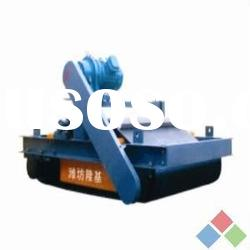Hot selling series RCYD-II auto cleaning steel armored belt permanent magnetic iron separator