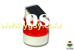 IP55 Ultra-Bright LED Rechargeable Emergency Light with 2W Monocrystalline Silicon Solar Panel
