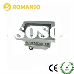 IP 65 High Flux Black/Grey Printing 10w color changing outdoor led flood light