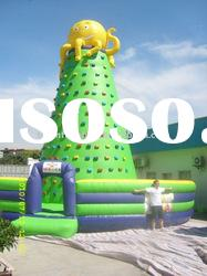Inflatable sports with high quality PVC, inflatable climbing game