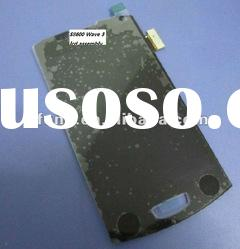 LCD & Digitizer Assembly for Samsung S8600 Wave 3 with frame Black