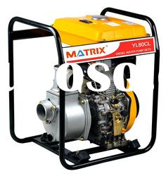 Large fuel tank design,MATRIX diesel water pump,Model:YL50CL,YL80CL,YL100CL
