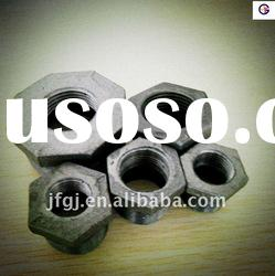 Malleable cast black iron pipe fitting bushing