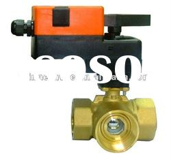Manual operation water level control ball valve