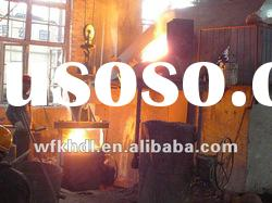 Medium frequency induction steel Melting