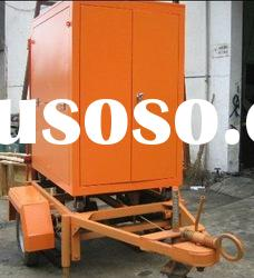 Mobile type Insulating Oil Purifier,Transformer Oil Purifier,Dielectric Oil Filtration System Plant