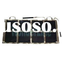 New Arrival Travel Solar Charger for Laptop 18V for Notebook Car Battery Bicycle Charging WL-800