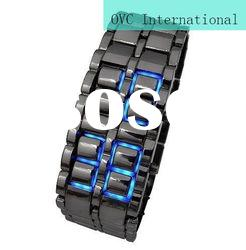 New style Led watches models Lava Iron Samurai watches