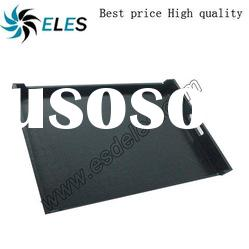 OEM available 686x550x75mm black conductive box esd tray
