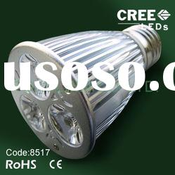 OWL MR16 GU10 E26 E27 6W High Power LED bulb