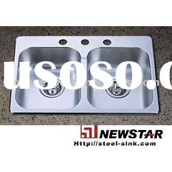 Offer cUPC approved stainless steel kitchen sink basin
