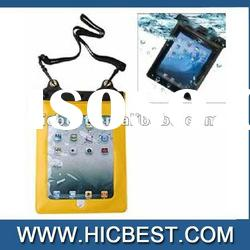 PVC & ABS Material 3 Meters Waterproof Case Bag for iPad 2/iPad/Other tablets