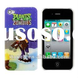 Plants Zombies Hard Cover Case For iPhone 4 4S