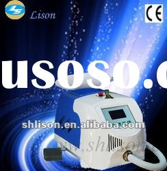 Portable ND YAG Laser Beauty system with foot switch, mole removal,eyeline removal