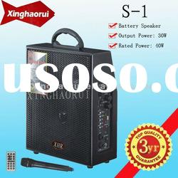 Portable Rechargeable Speaker Sound Box with USB/Mp3 S-1