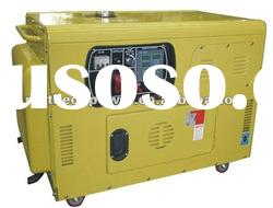 Portable air-cooled soundproof diesel engine generators 10kva CE